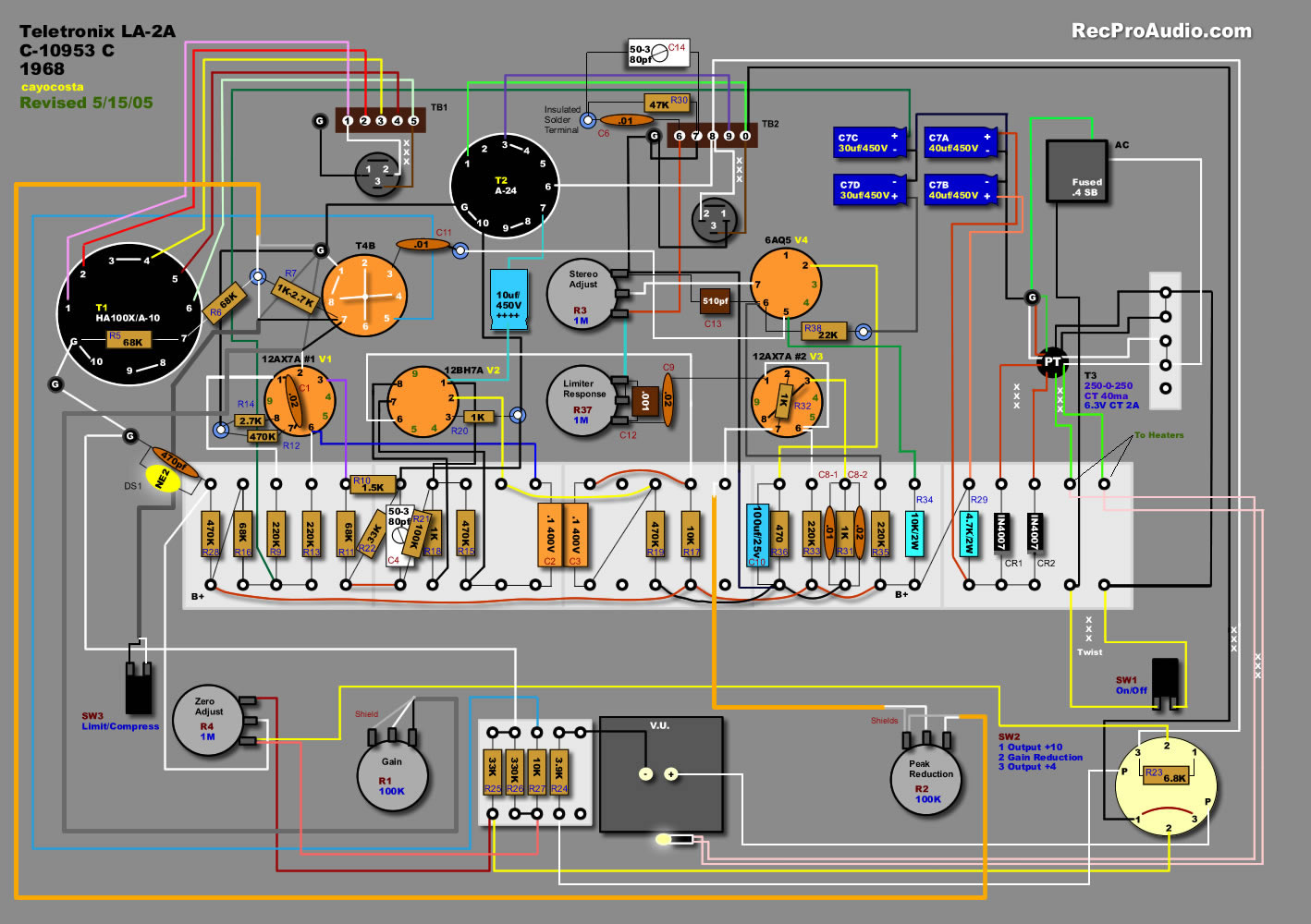 DIY - Build your own La2a compressor, Pultec EQ and more. - Page 3