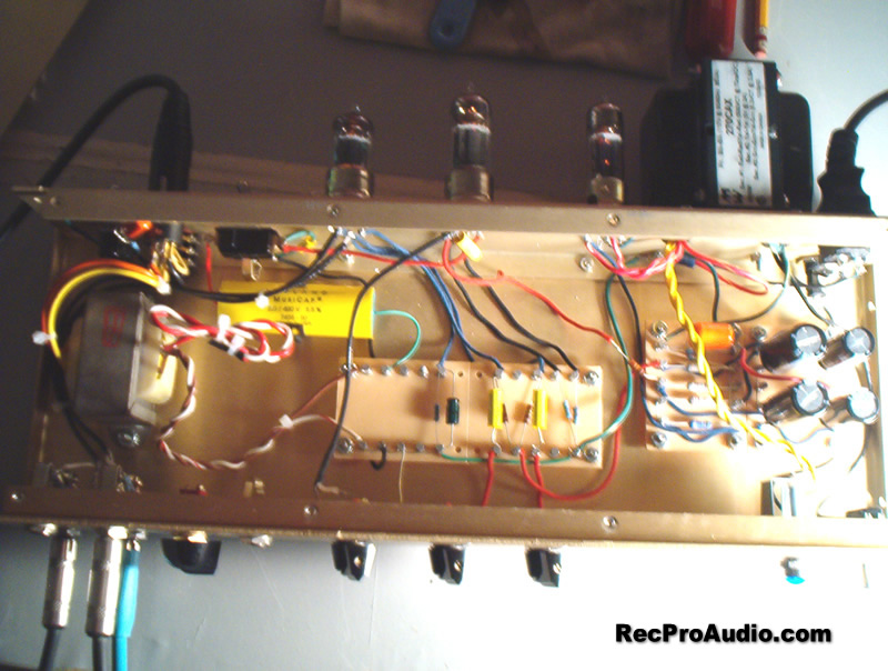 Vacuum Tube Circuit Schematic