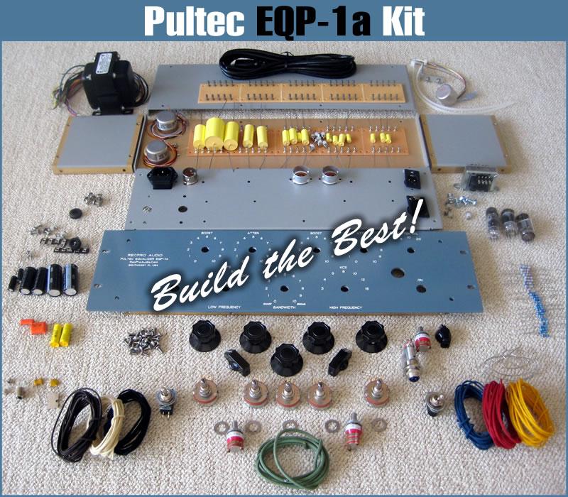 Pultec EQP1A Equalizer - Pro Audio Equipment DIY - DIY