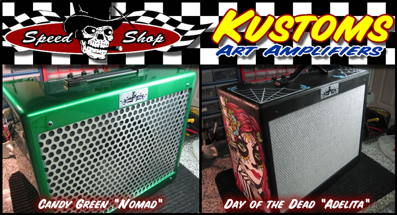 Tweed Deluxe Speed Shop - Kustom Art Amps